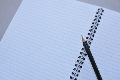 ノート 鉛筆 紙