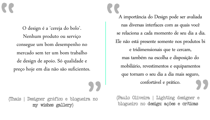 a importancia do design