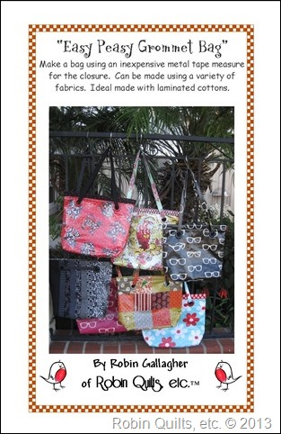 Easy Peasy Grommet Bag