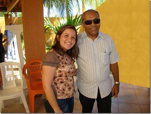 LIDIANE GARCIA, COMPANHEIRA DE CHAPA DE BRUNO FILHO