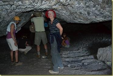 Pat in cave
