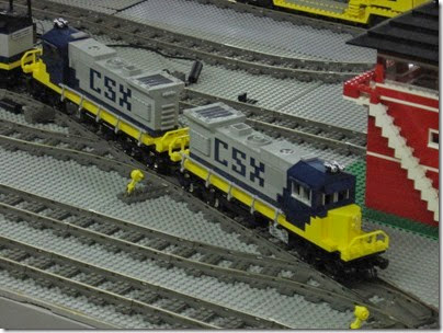 IMG_0179 Greater Portland Lego Railroaders Layout at the Great Train Expo in Portland, Oregon on February 16, 2008
