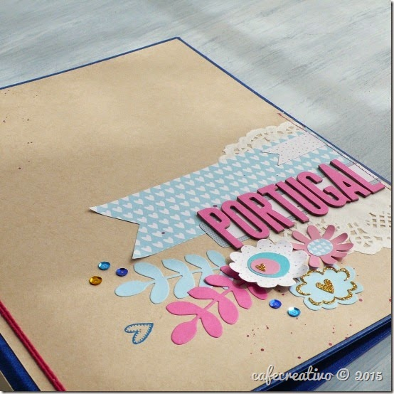 cafe creativo - craft asylum - album scrap -  scrapbooking