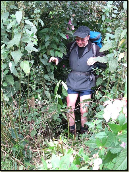 Roger emerges from Bury Jungle