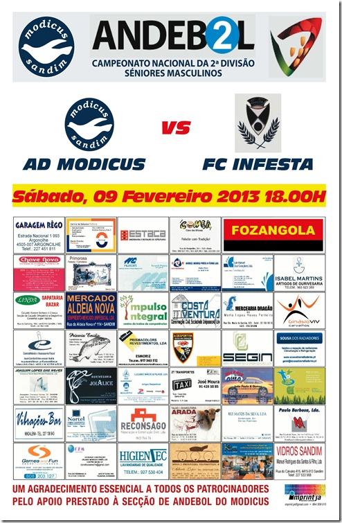 AD MODICUS vs FC INFESTA