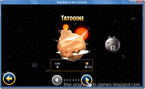 Free Download Angry Birds Star Wars v1.1.2 PC Game