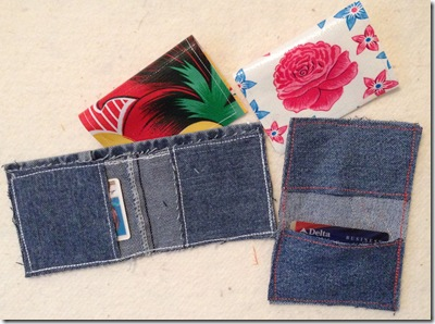 wallets and gift cards