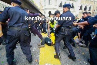 Terkini Bersih 3.0! Polis Pengganas?
