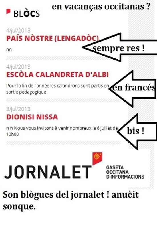 Blògues del jornalet un divendres de julhet