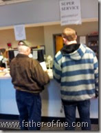 Transfering ownership at the DMV