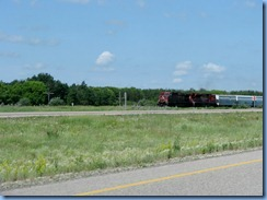 8436 Saskatchewan Trans-Canada Highway 1 - train