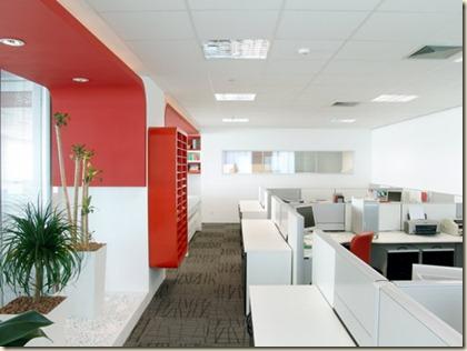 decoración de oficinas modernas