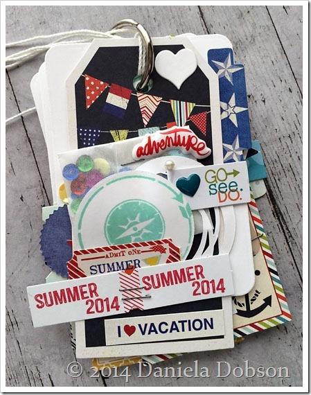 Summer 2014 mini album front by Daniela Dobson