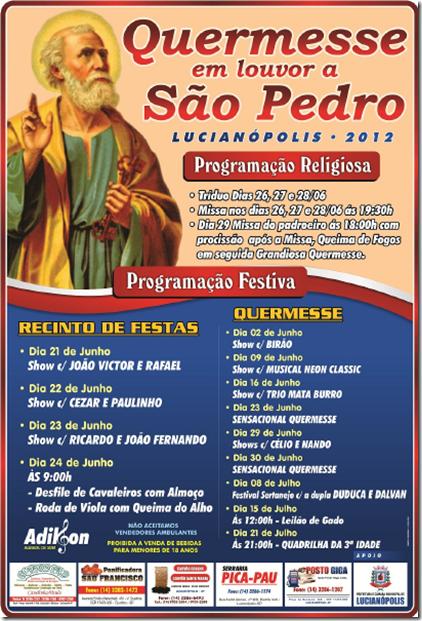 Quermesse São Pedro