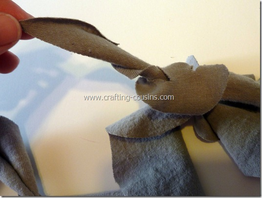 no sew ruffle scarf 9