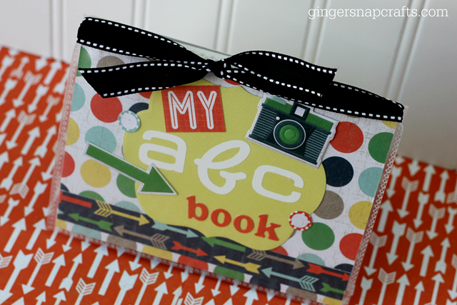 abc book at GingerSnapCrafts.com