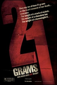 21 Grams - poster