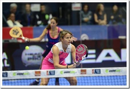 Marta Marrero y Cata Tenorio Campeonas en el Estrella Damm Valencia Open 2014.1