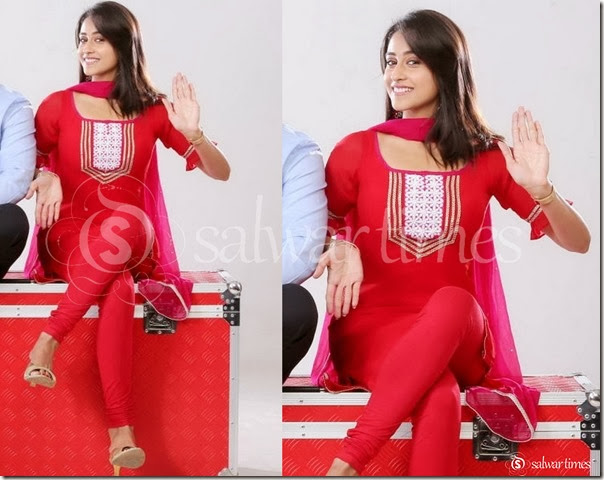 Regina_Red_Short_Kurta