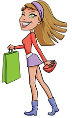 dibujo-mujer-chica-shopping-compras-1