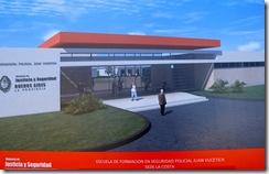 """Creación de una sede de la Escuela de Formación en Seguridad Policial """"Juan Vucetich"""" en el distrito."""