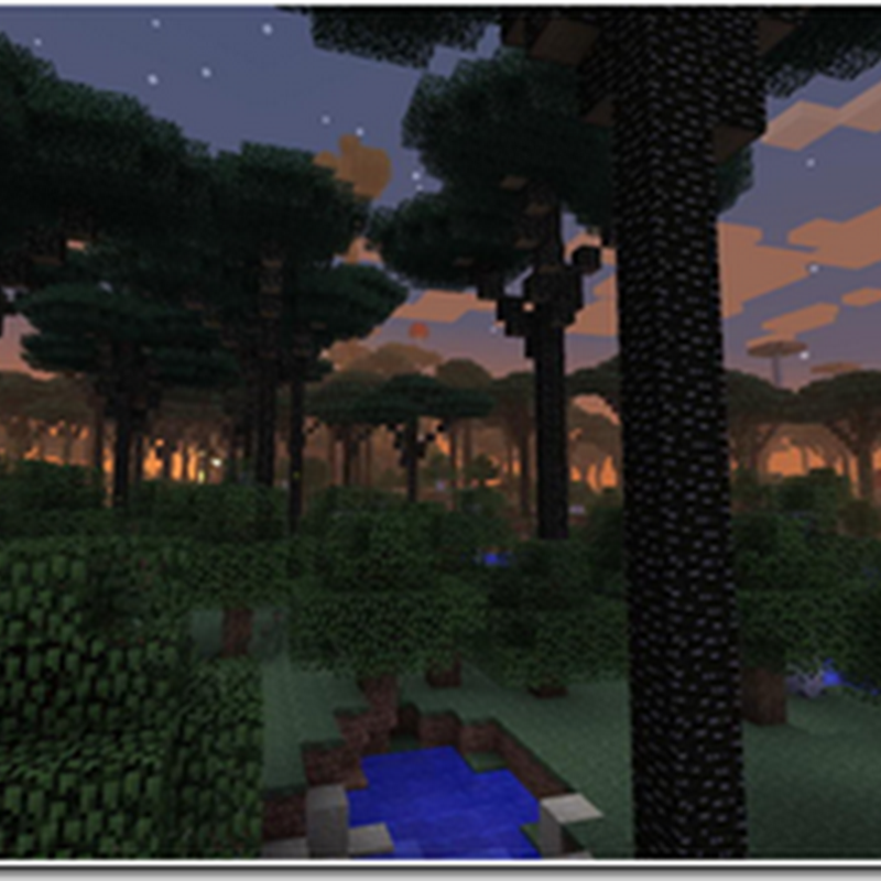 Minecraft 1.2.5 - Twilight Forest Mod (Fantasy,Puzzle)