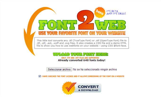 http://www.font2web.com/