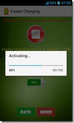 تطبيق تسريع شحن البطارية Faster Charging للأندرويد - 1