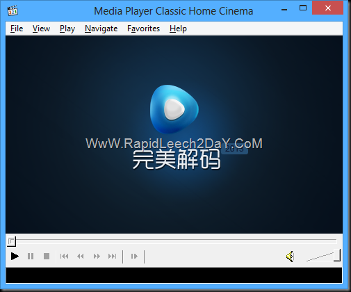 Pure Codec 2013.08.31 - Media Player Classic