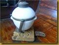 Lampu kapal keramik - berdiri