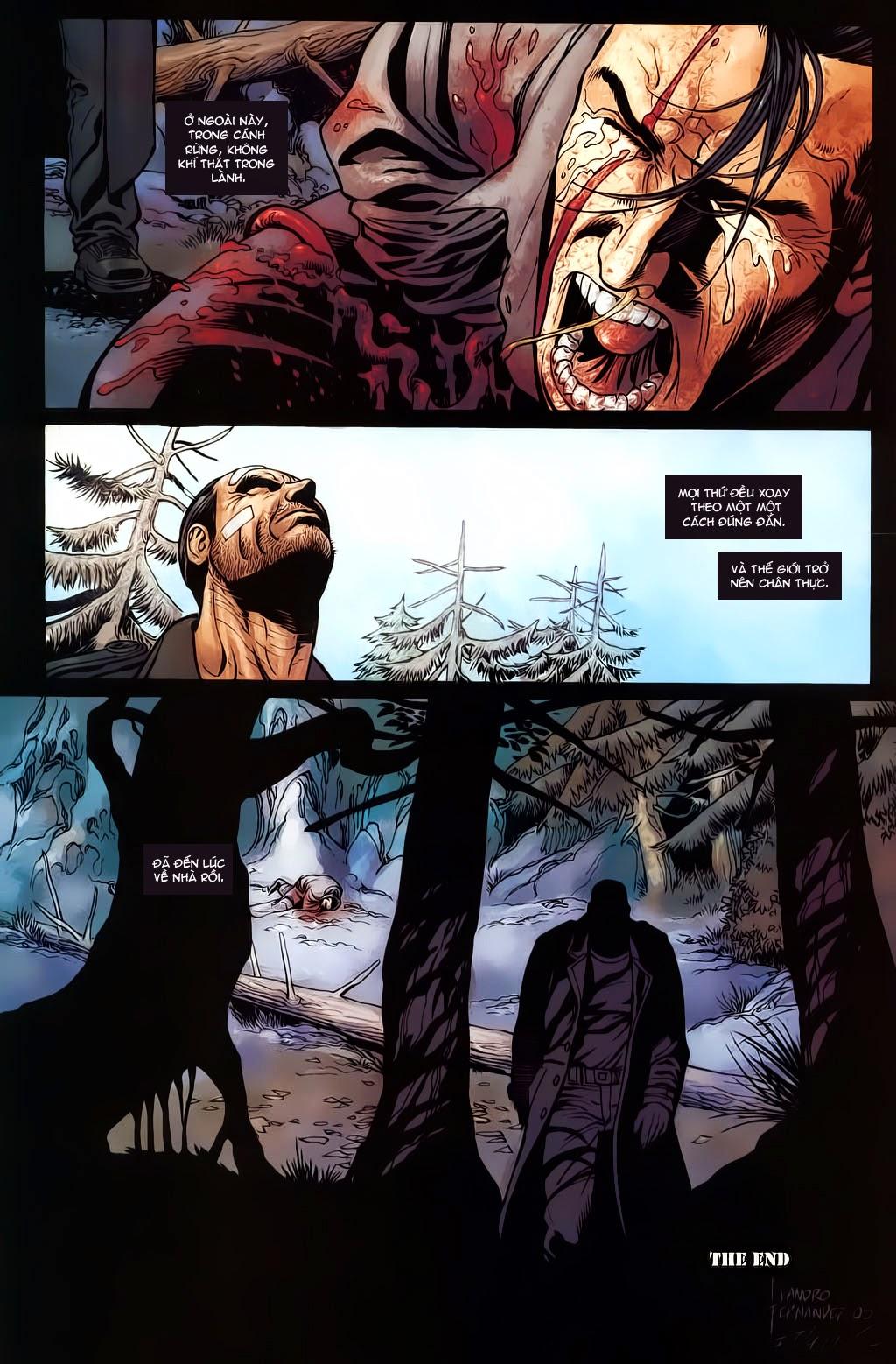 The Punisher: Trên là Dưới & Trắng là Đen chap 6 - Trang 25