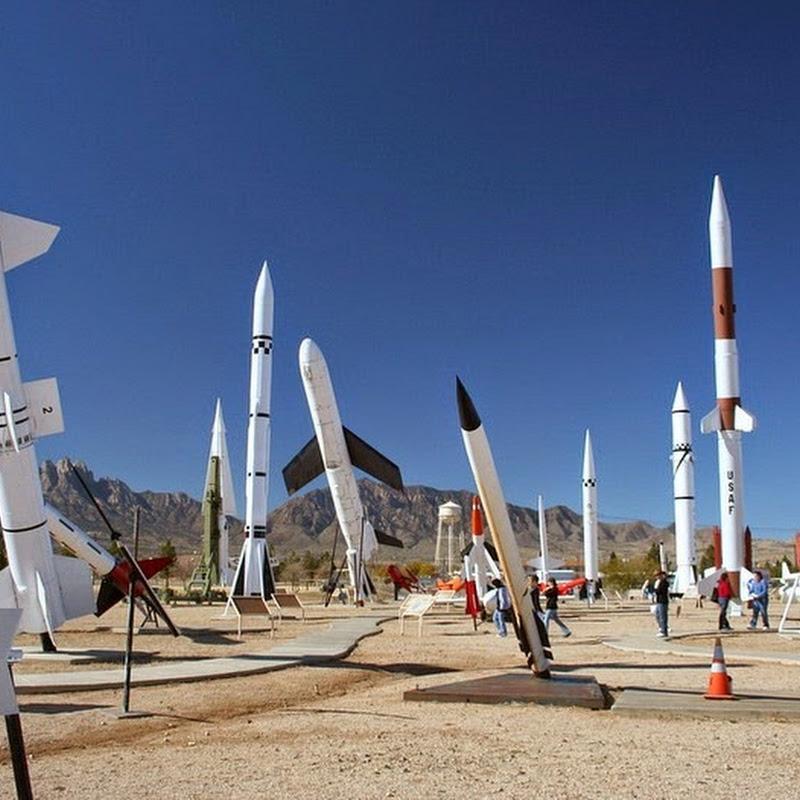 A Missile Park at White Sands Missile Range Museum