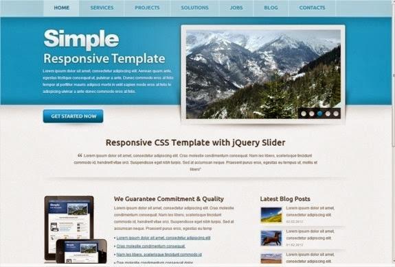 10 nuevas plantillas HTML5 con Responsive Design 11