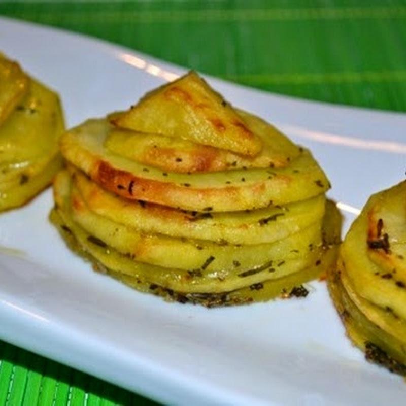 Πυργίσκοι  με πατάτες