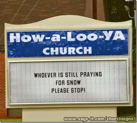 churchsign HowaLooYa