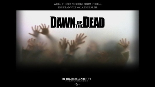 Dawn of the Dead muertos vivos