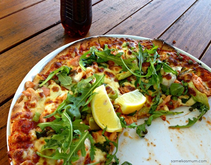 Sicilian Pizza @ Il Lago