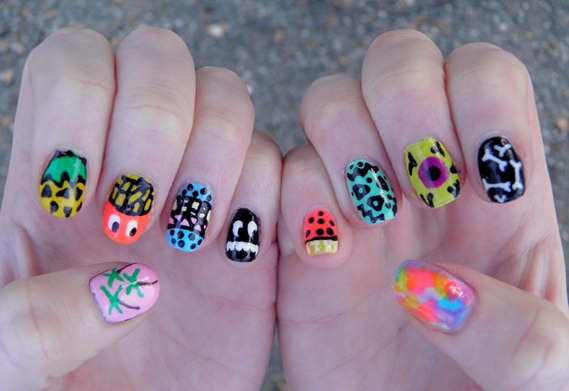 LAZY OAF NAILS 1