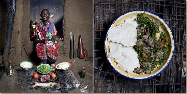 Portraits de grand-mères et leurs plats cuisinés (25)