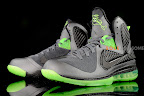 nike lebron 9 gr black green dunkman 3 01 Another Look at Nike LeBron Dunkman   Different Version