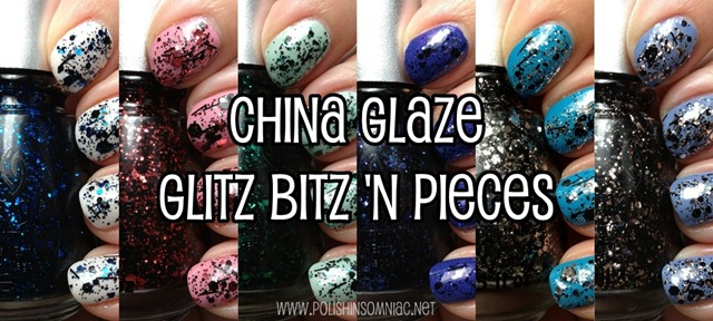 China Glaze Glitz—Bitz 'N Pieces