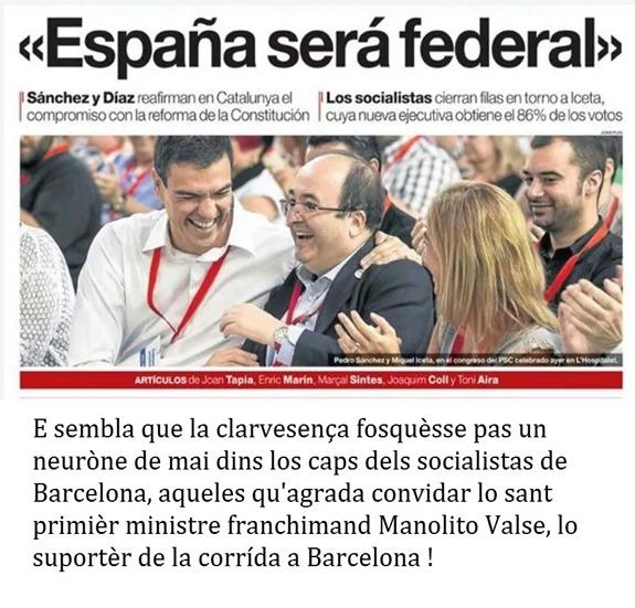 socialista espanhòl en Catalonha