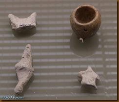 Figuritas de barro y microvaso - Monte Aguilar - Bardenas Reales