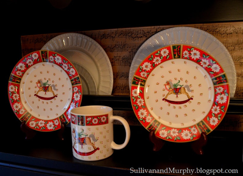 rocking horse dinnerware
