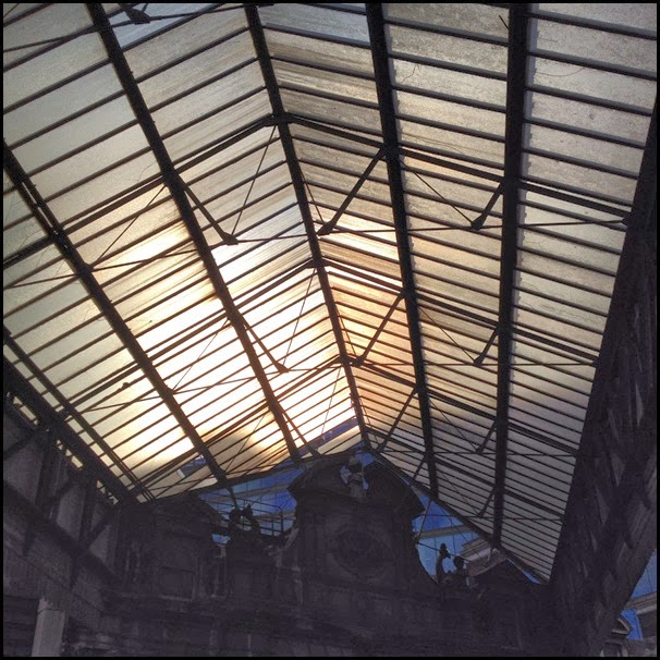 Roof detail, Smithfield Market