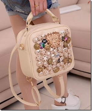 ID 7837 Rice (196.000) - PU Leather, 20 x 20 x 10