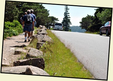 02b - hiking Ocean Path Roosevelt's Teeth