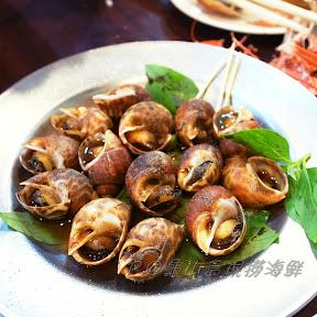 烤風螺 @ 龜山島現撈海鮮