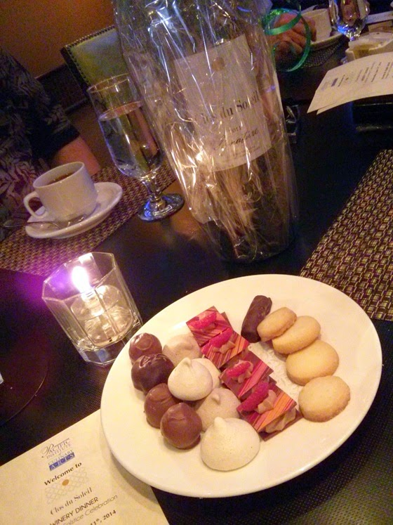 Petit Fours and Signature Magnum