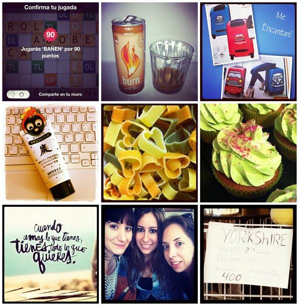 Instagram 28 Mayo 3 Junio